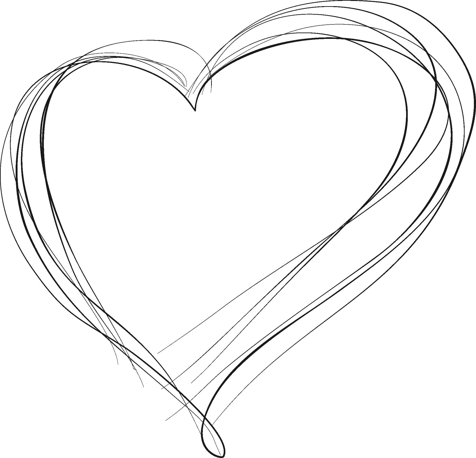 сердце контур картинка своих интервью артист