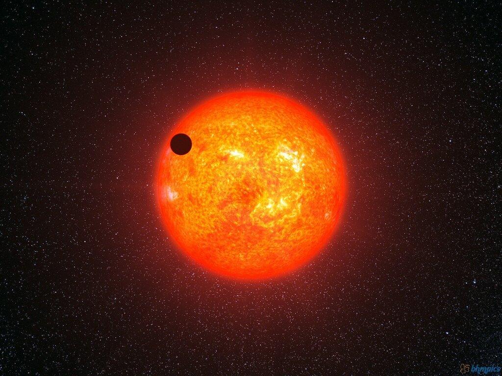 Телескоп TESS нашел экзопланету у красного карлика