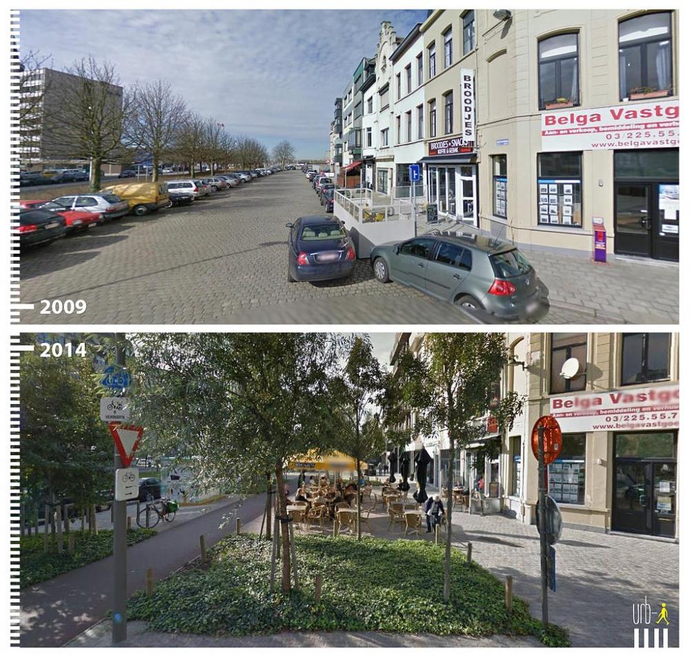 Как изменились города за6лет (17 фото)