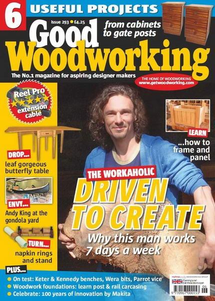 Книга Журнал: Good Woodworking №293 (June 2015)