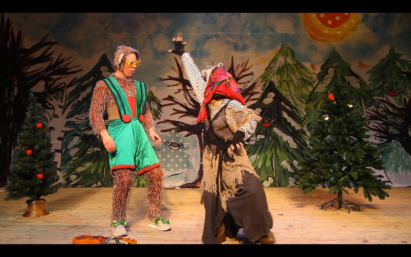 Спектакль / Чудеса с обезьянкой Жаконей