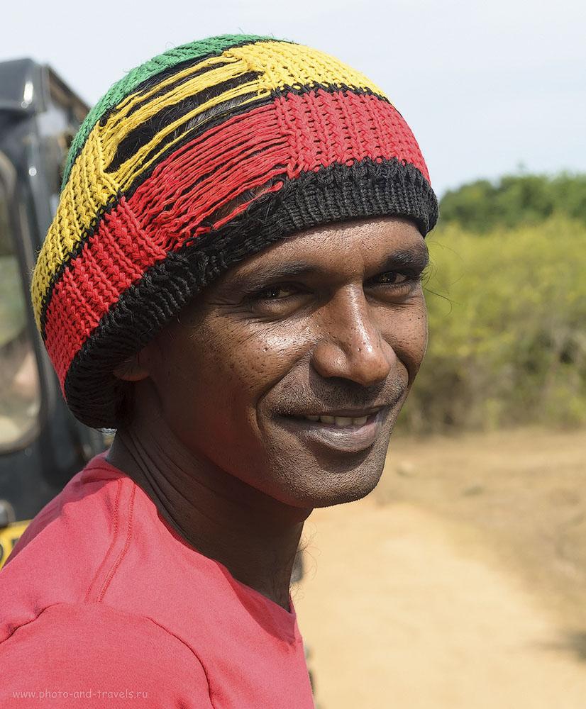 2. Фото. Наш гид на экскурсии в заповедник Яла на Шри-Ланке (320, 45, 8.0, 1/500)
