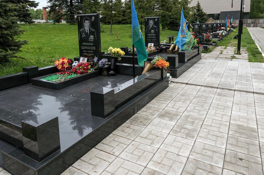 Москва. Николо-Архангельское кладбище. Они служили России 2