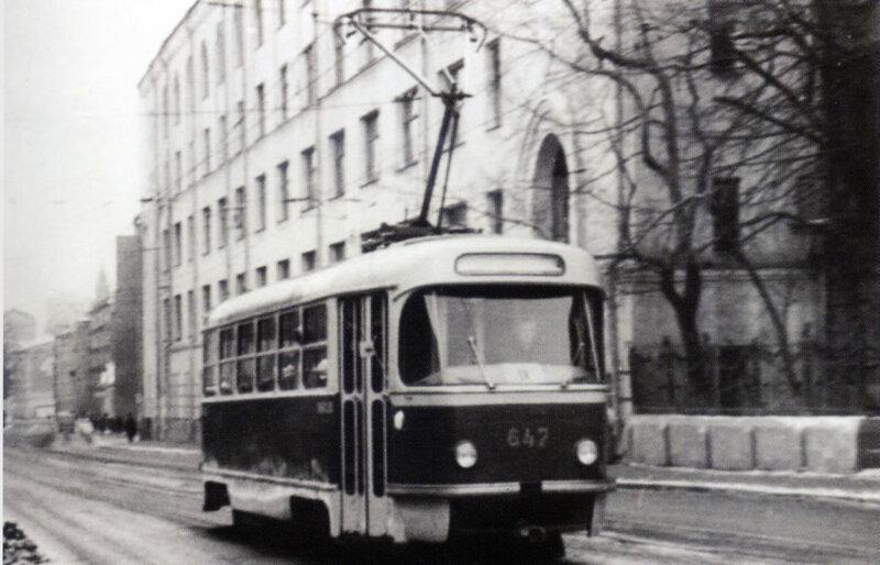 54759 Сущевская улица у домов №№ 27 и 29 1966.jpg