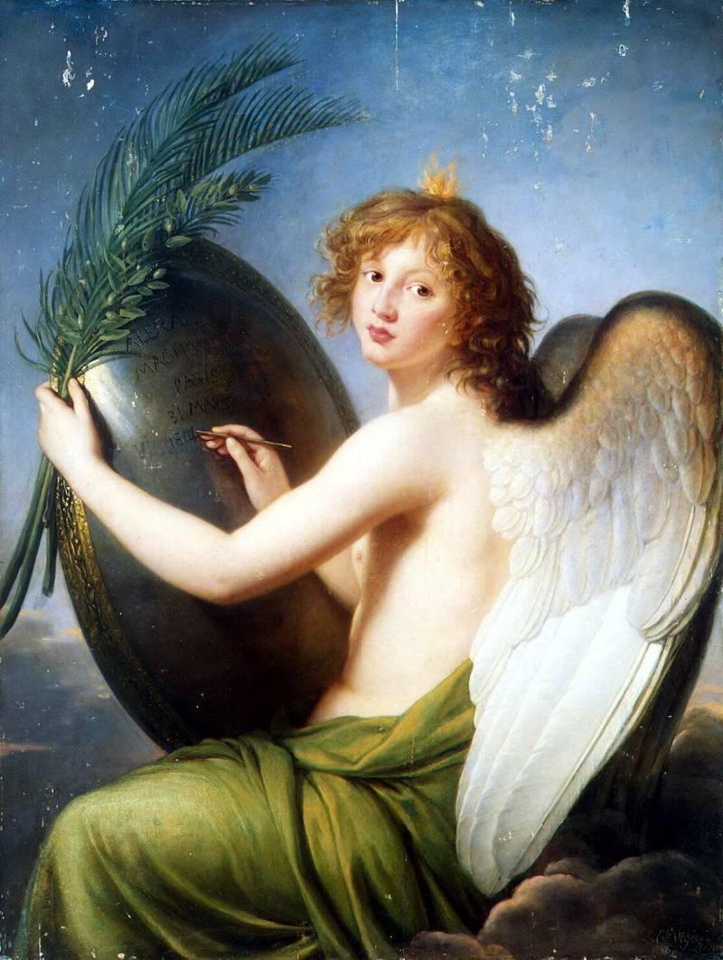 .Виже-Лебрен, Элизабет-Луиз — Гений Александра I, Эрмитаж