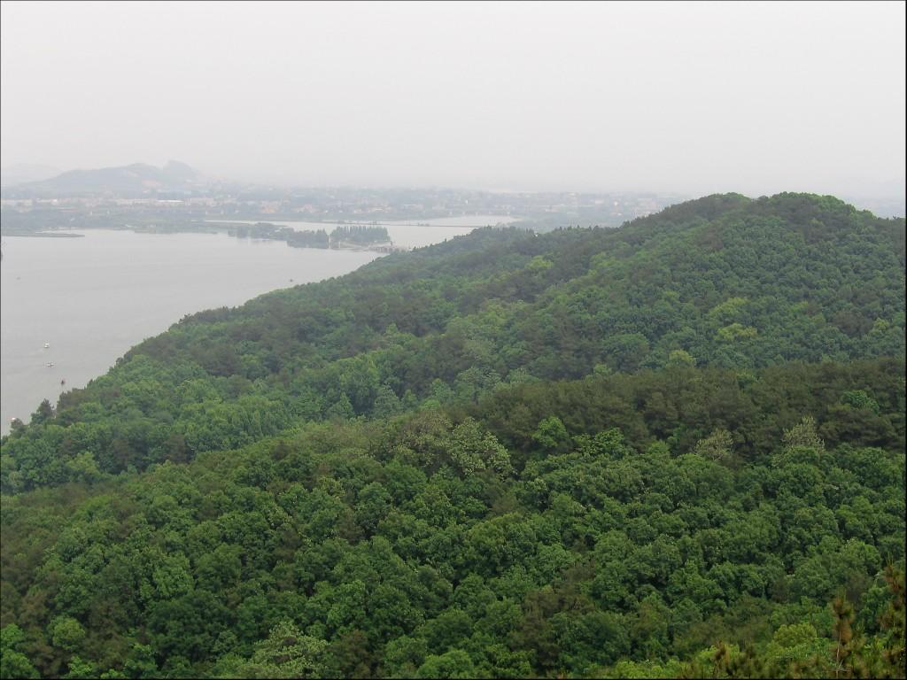 Горы Мошань, Ухань