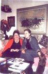 Март 2002 г. Съёмки фильма в Ричфильд-Спрингсе. Анна Юрьевна с Е. Н. Чавчавадзе
