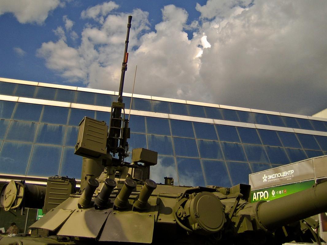 Международный Салон Вооружения и Военной Техники 2008 (открытая площадка)