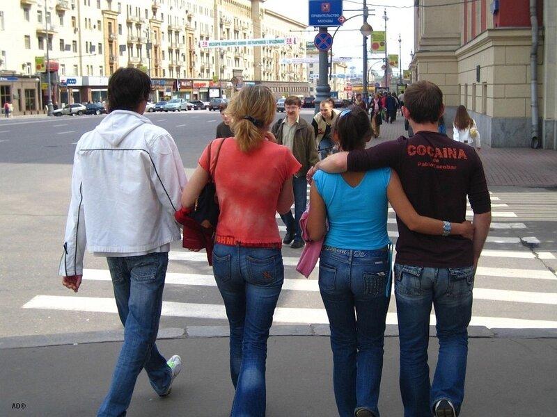на московских улицах