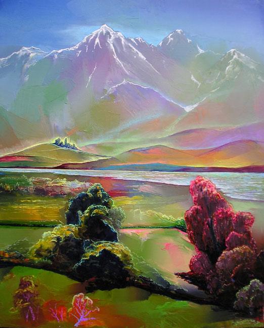 Гиви Сипрошвили, Симфония гор