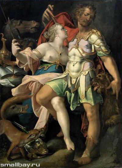 Шпрангер Бартоломеус, Одиссей и Кирка