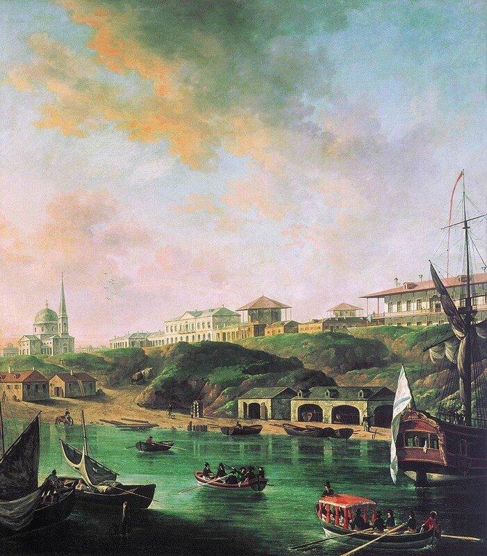 Вид города Николаева. 1799