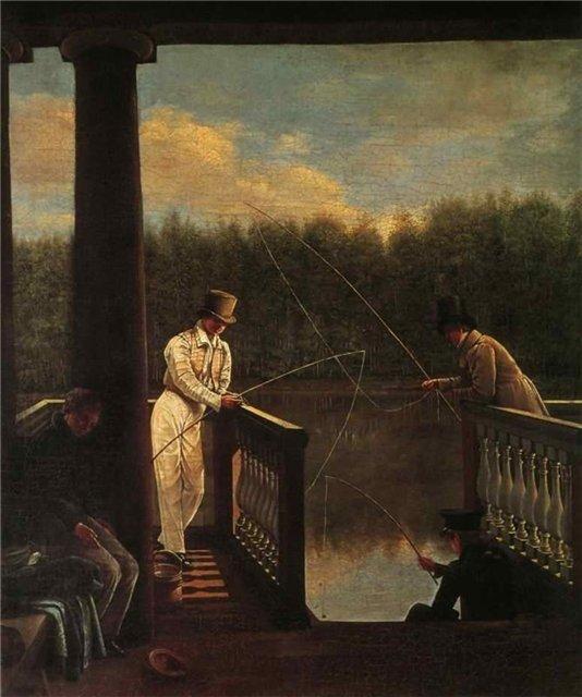 Аврорин Василий Михайлович. Ужение рыбы. 1830 г.
