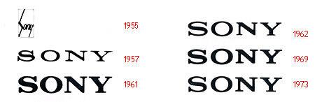sony logo evolution