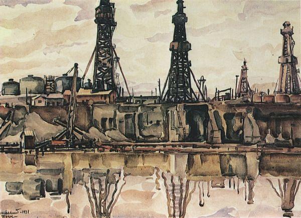 нефтяные промыслы. 1930