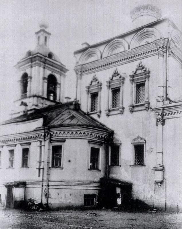 Южный фасад Никольской церкви