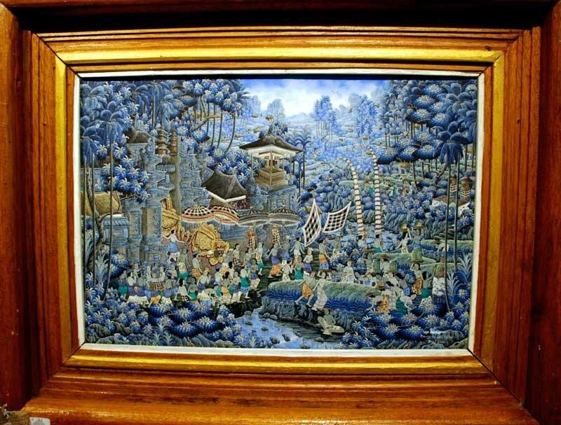 Картины Убуда (о.Бали)