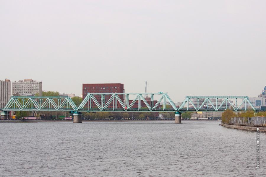 Кожуховский (Новоданиловский) мост Московской окружной железной дороги