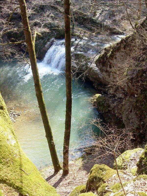 Водопад на Каверзе