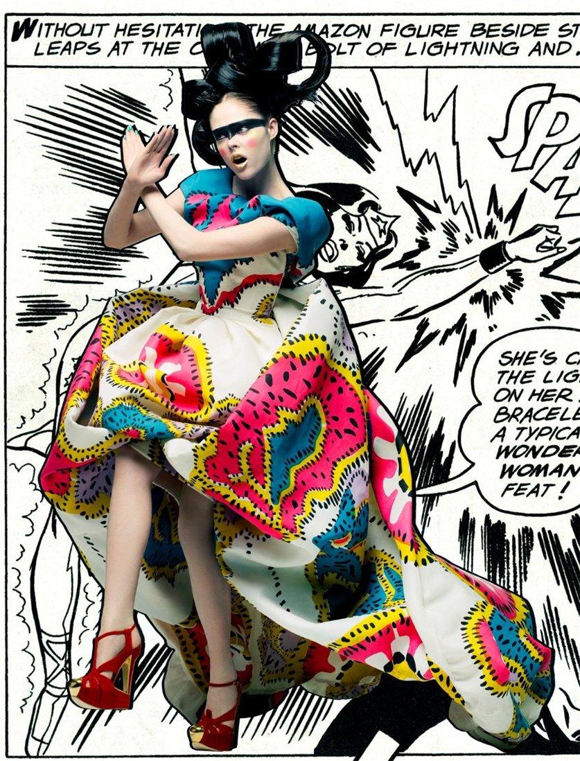 супергерой Коко Роча / Coco Rocha by Craig McDean