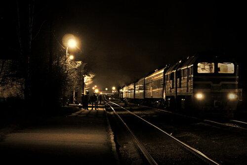 Вокзал в Максатихе