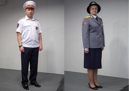 новая форма МВД
