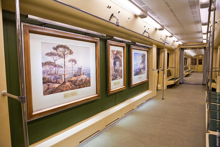 """Поезд Акварель """" ARTEYES.RU - портал о искусстве, картины известных художников, скульпторах, фотографов, скачать работы художник"""