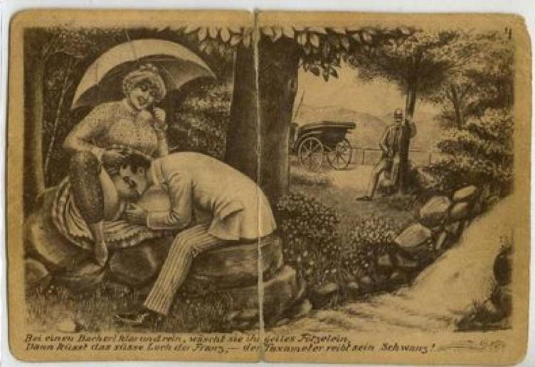 Фривольные картинки 19 век, открытку новый
