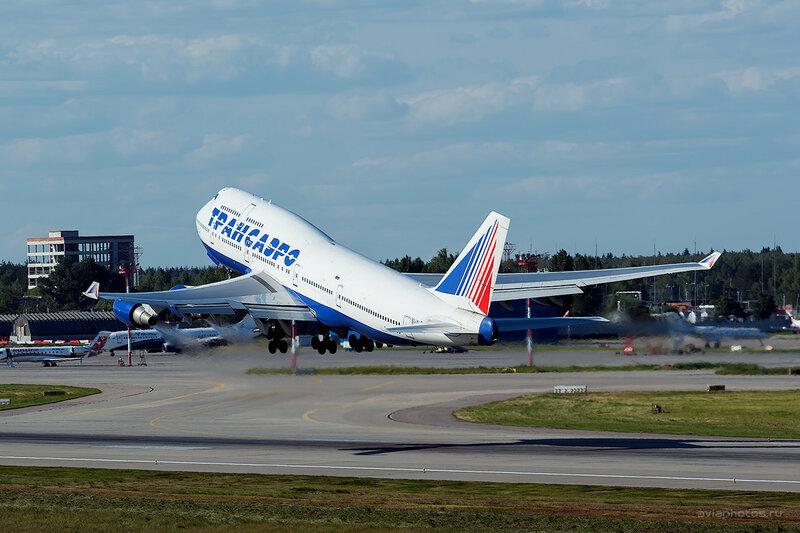 Boeing 747-446 (EI-XLE) Трансаэро D808787