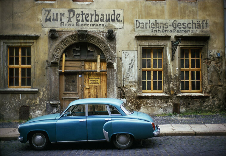 EAST GERMANY, 1975. Old Restaurant in Goerlitz TH.jpg