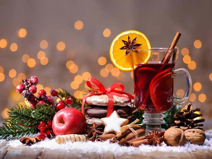 Рецепты глинтвейна на Новый год