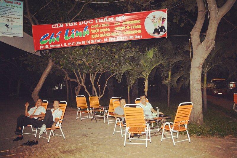 Ночной Вунгтау...Вьетнам.