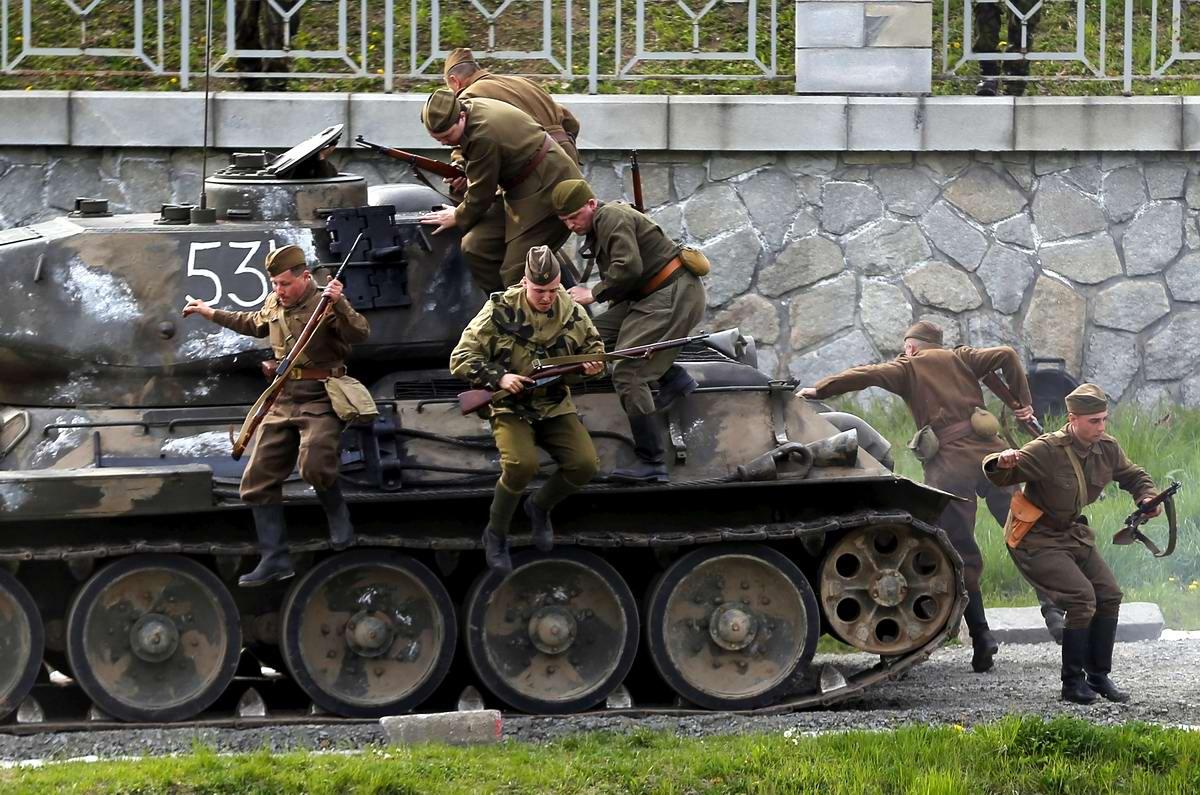 Освобождение чешской Остравы Советскими войсками: реконструкция событий весны 1945 года (11)