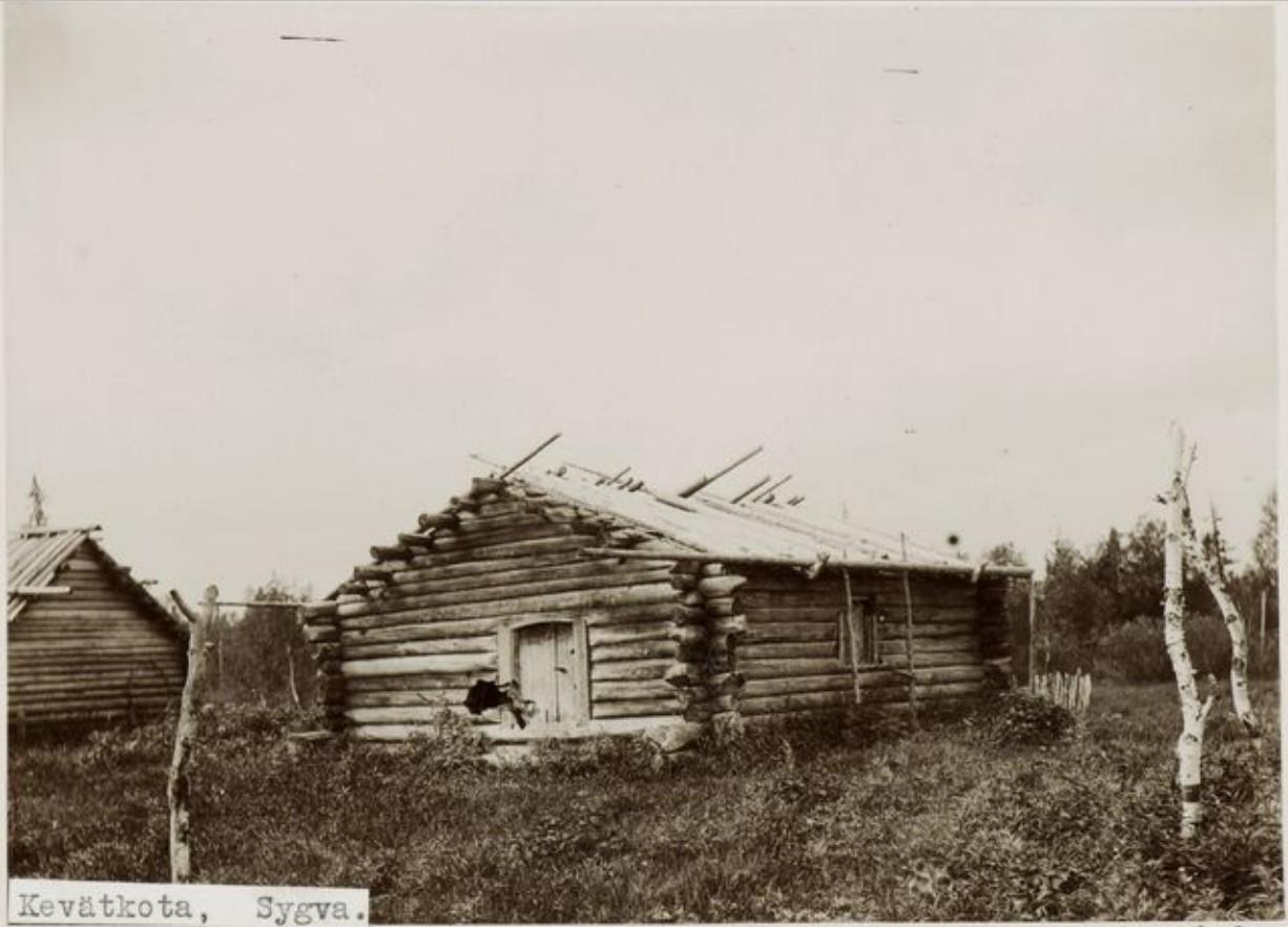 Бревенчатый дом на Сыгве