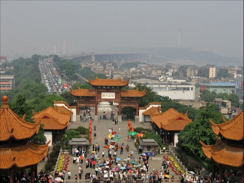 Вход в Хуанхэлоу, Ухань