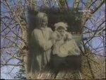 С няней Наташей Муратовой. В Таврическом саду. Петроград 1918 год