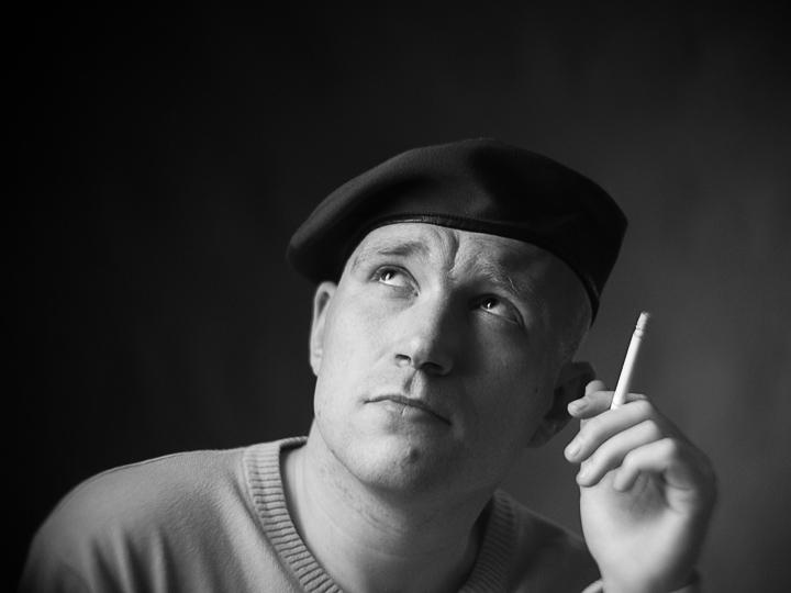 фото ezik13. студийные портреты блогеров. черно-белые фотографии. фотограф Кузьмин.