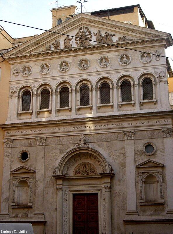 Одна из церквей Рима (1).