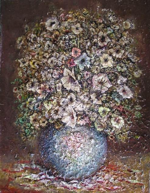Гиви Сипрошвили, Цветы в стиле рококо