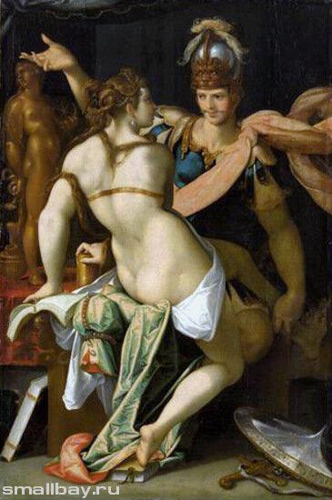Шпрангер Бартоломеус, Цирцея и Одиссей