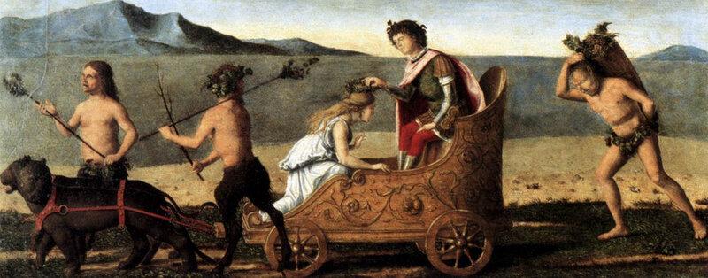 Чима да Конельяно, ок. 1505 г, Свадьба Вакха и Ариадны