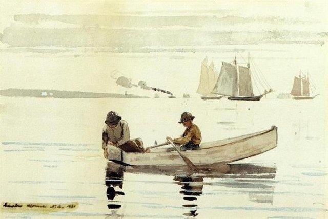 У.Хомер Маленькие рыбаки 1880 г.
