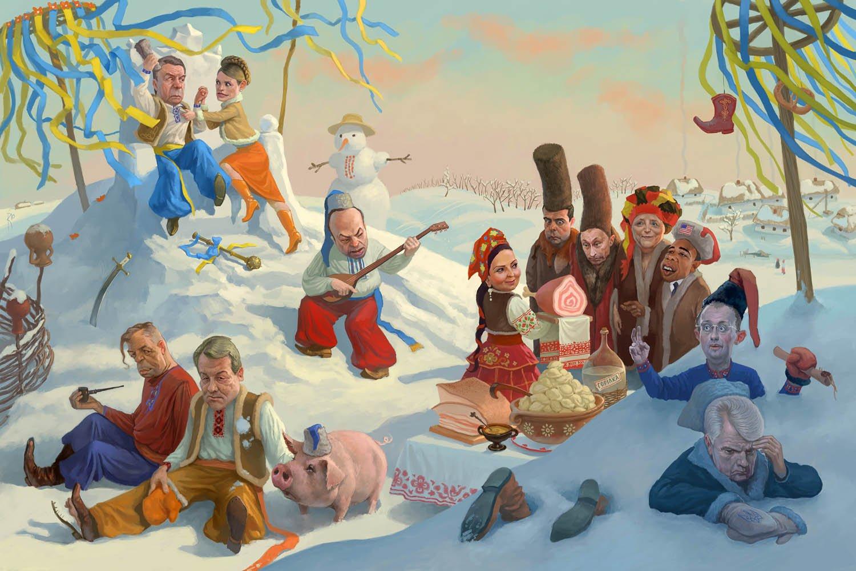 Прикольные картинки с украинскими казаками, надписью