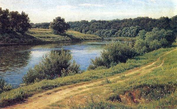 москва-река река вода дерево.