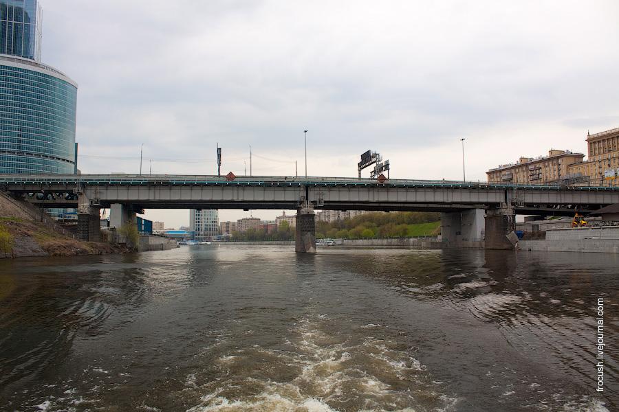 Дорогомиловский железнодорожный и автодорожный мост