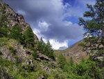 Вид в сторону перевала