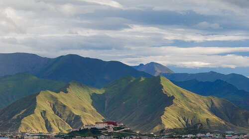 Дворец Потала, Лхаса. Тибет