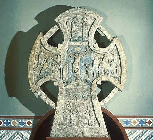 Крест Голгофский Алексеевский крест XIV в Новгород