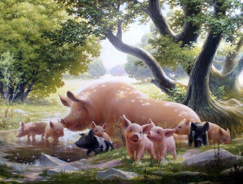 Картины художника Алексея Капустяна (27)