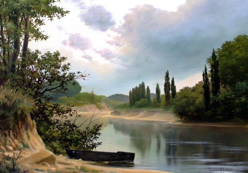 Картины художника Алексея Капустяна (14)